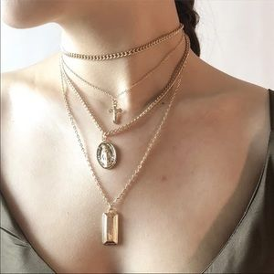 Jewelry - Gold Delicate Layered Necklace